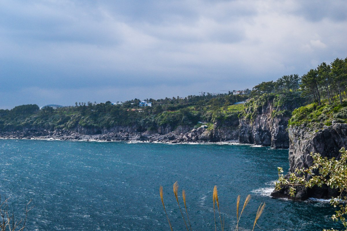 the best views of Jeju are always of the ocean