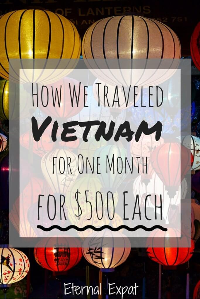 how much does it cost to travel vietnam
