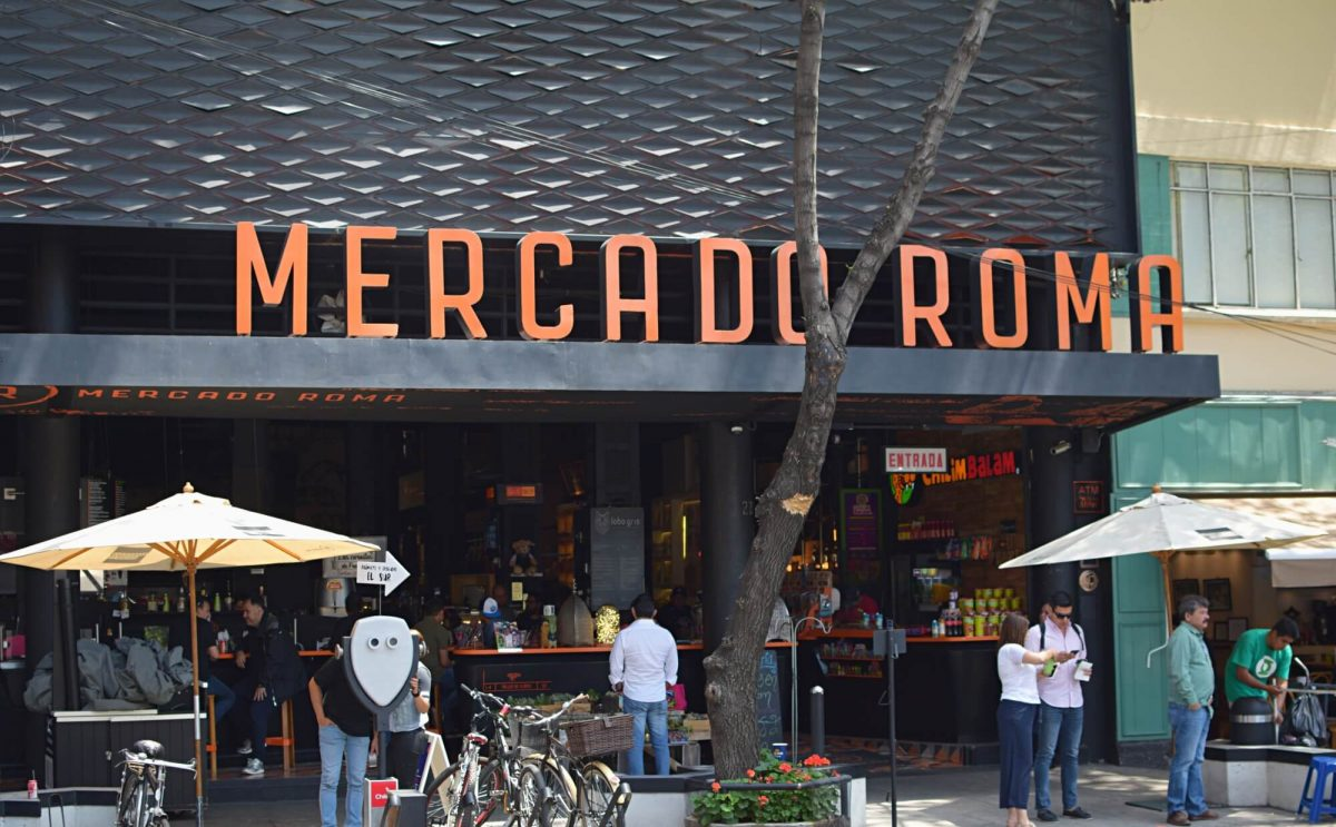 Mexico City Travel: Mercado Roma