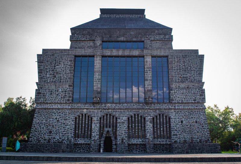 anahuacalli museum in coyoacan