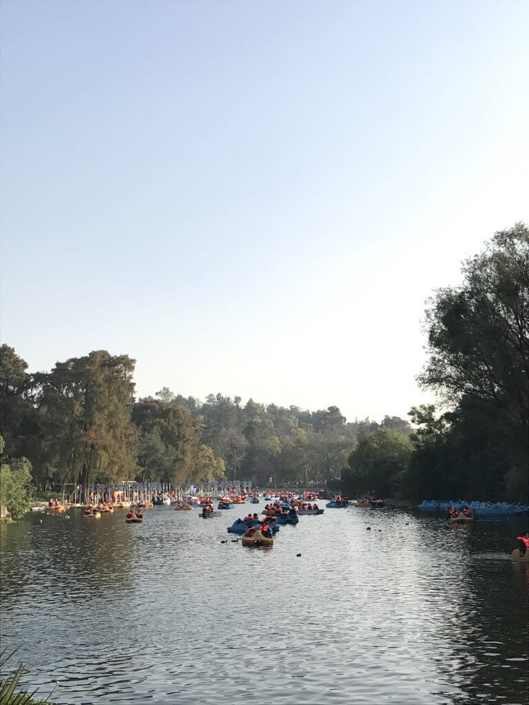 visit chapultepec on a sunny day