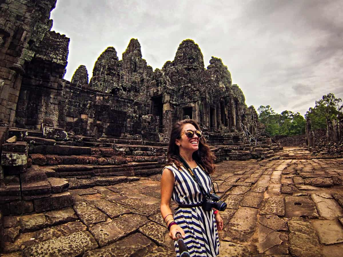 exploring the ancient ruins of angkor wat in southeast asia