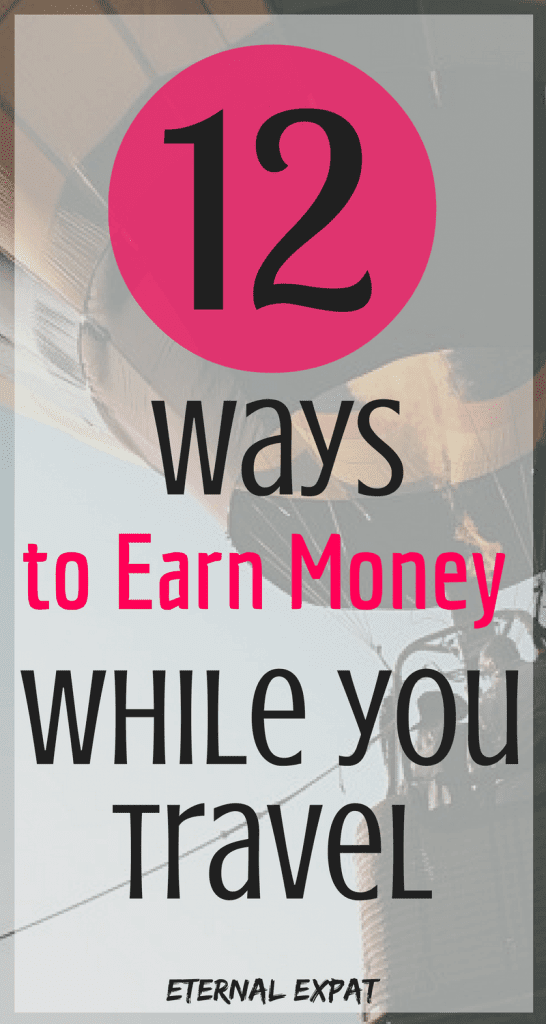 how to earn money while you travel