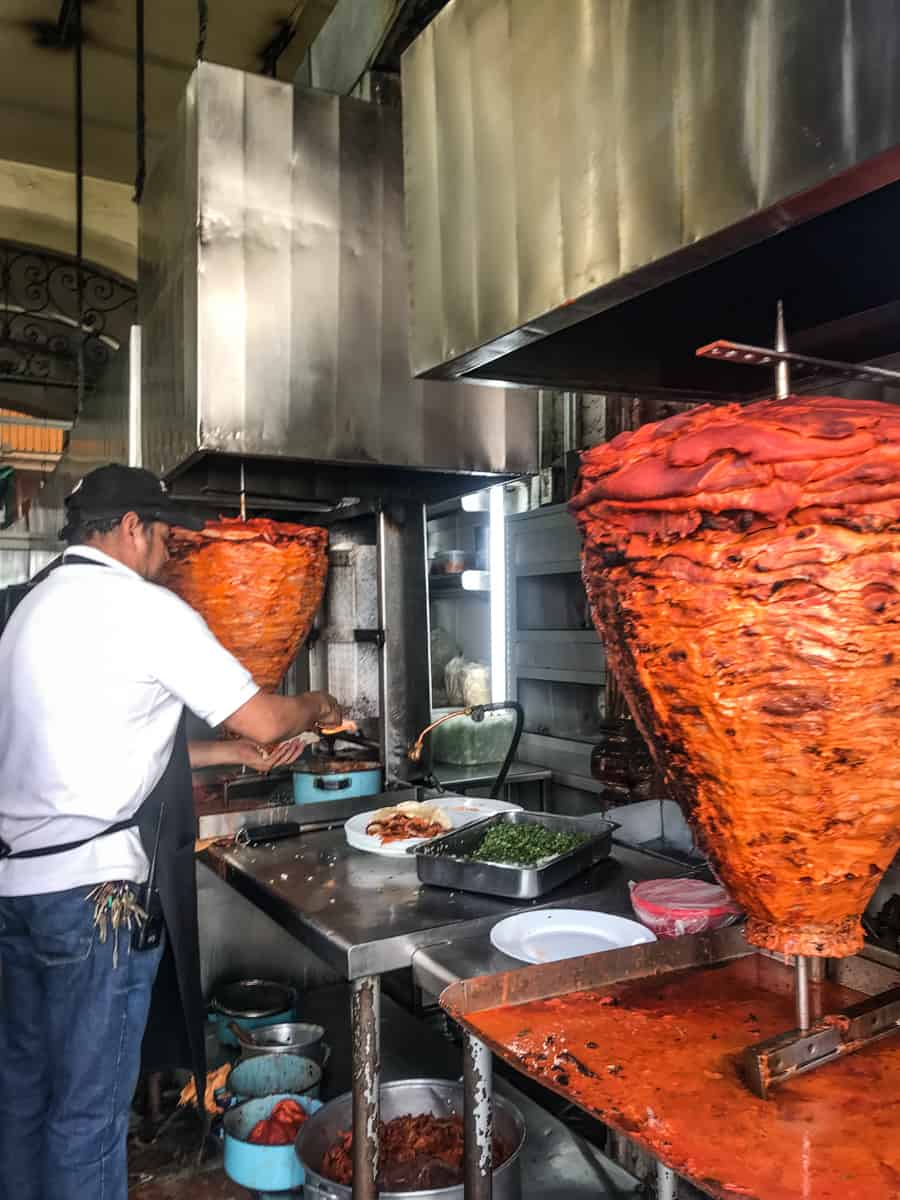 pastor tacos are the best street food in mexico city