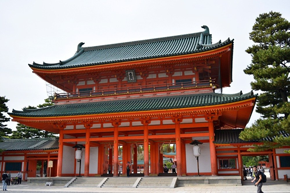 Photos of temples in Japan