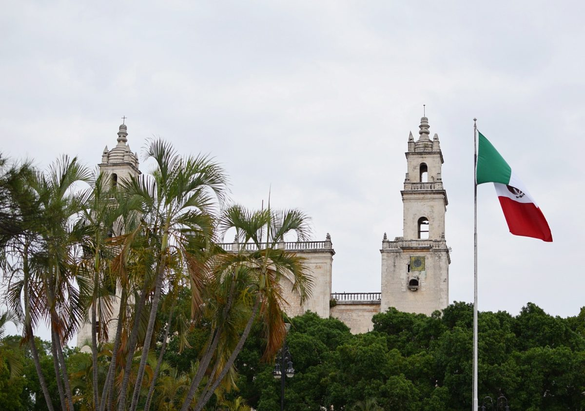 main cathedral in merida