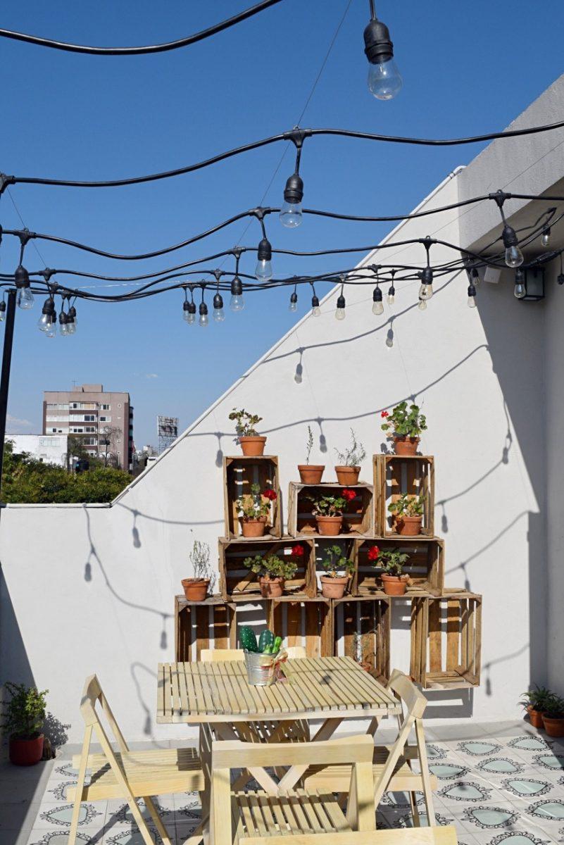rooftop at la palomilla B&B
