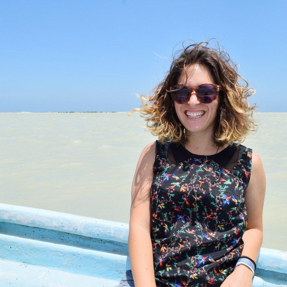on a boat rio lagartos mexico