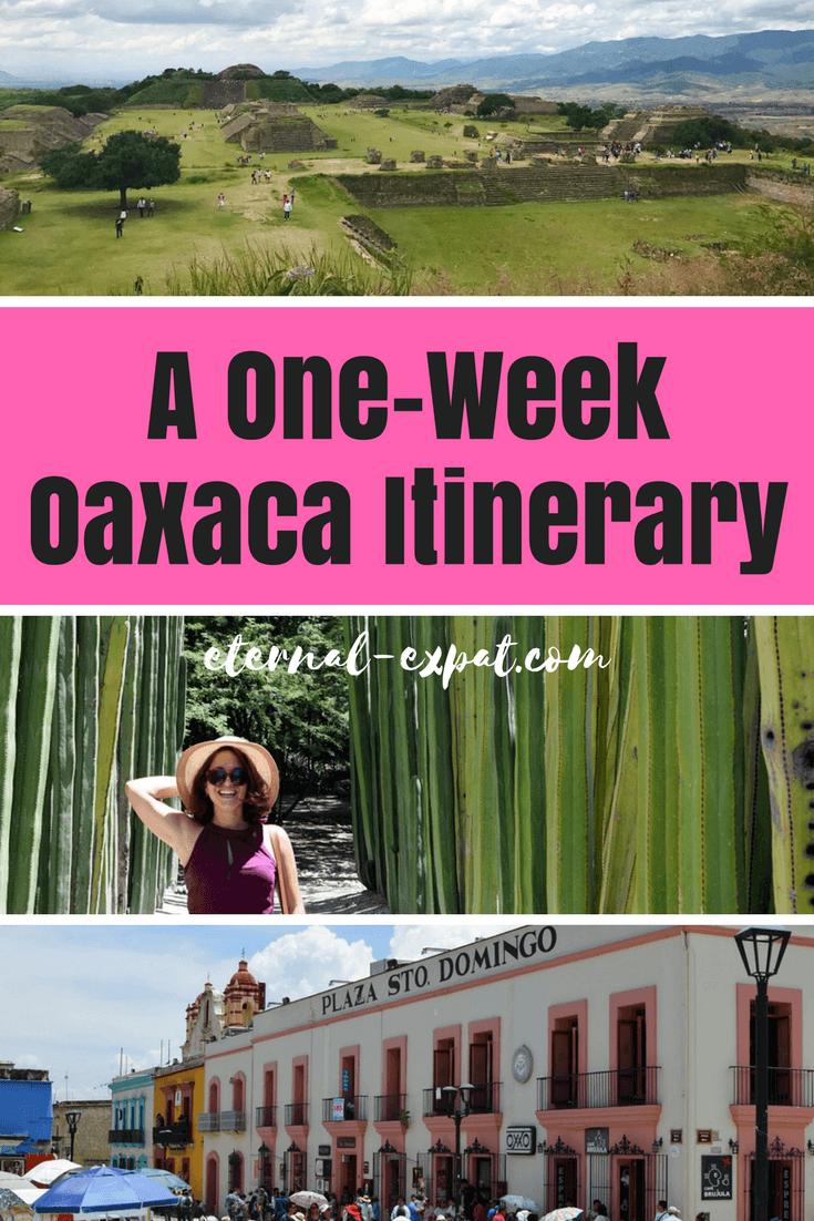1 week oaxaca itinerary