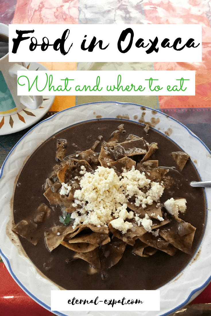 what food in eat in Oaxaca