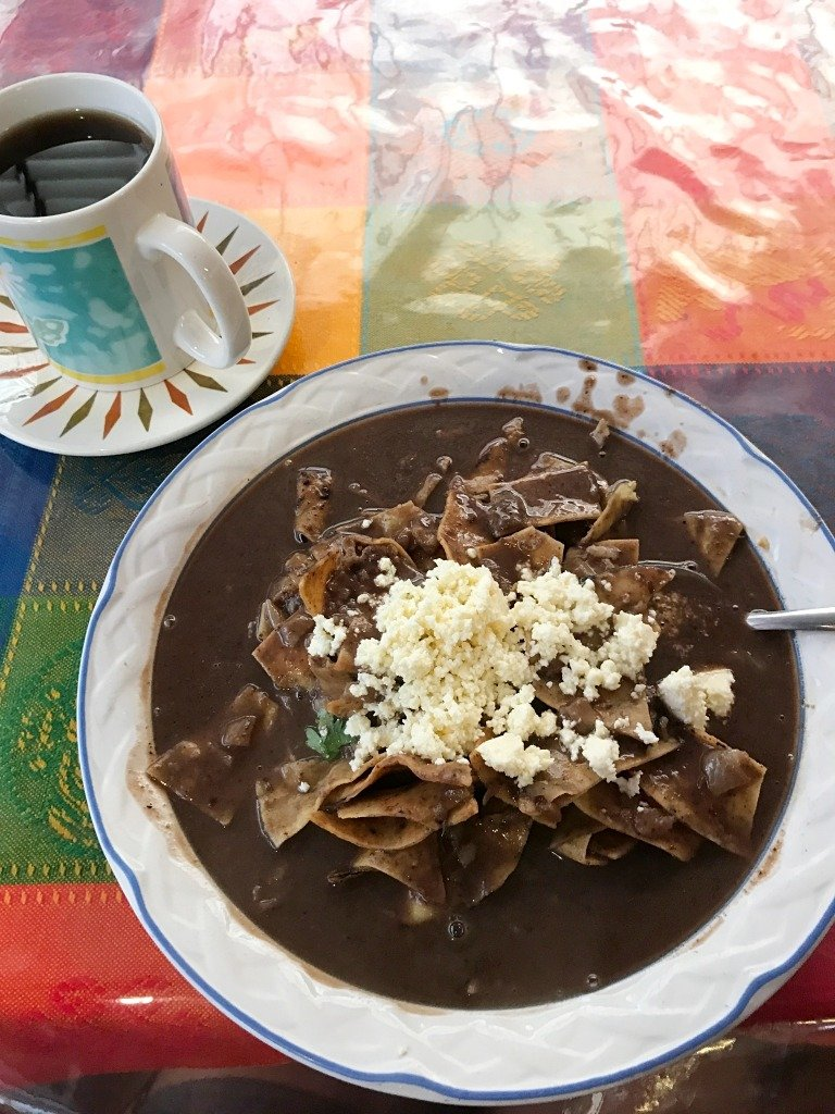 food in Oaxaca