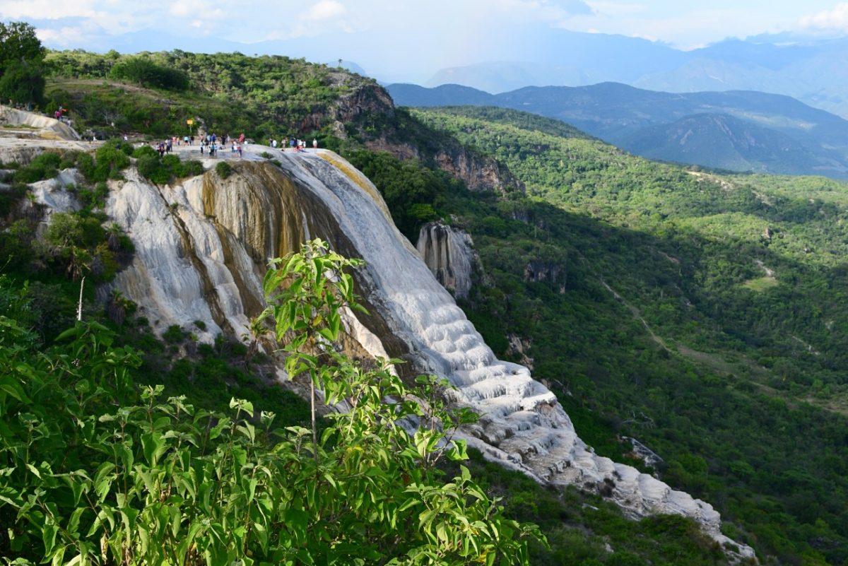 how to visit hierve el agua oaxaca
