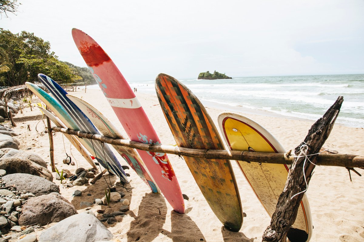 surfing is one of the best things to do in Puerto Viejo