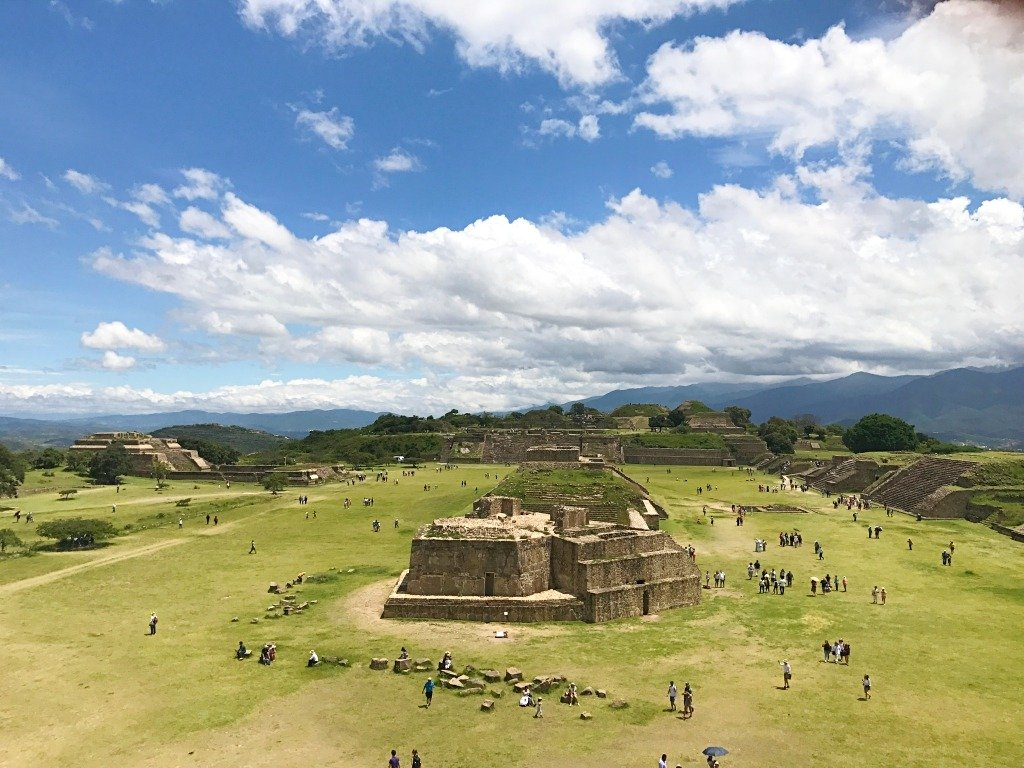 Visiting Monte Alban Mexico