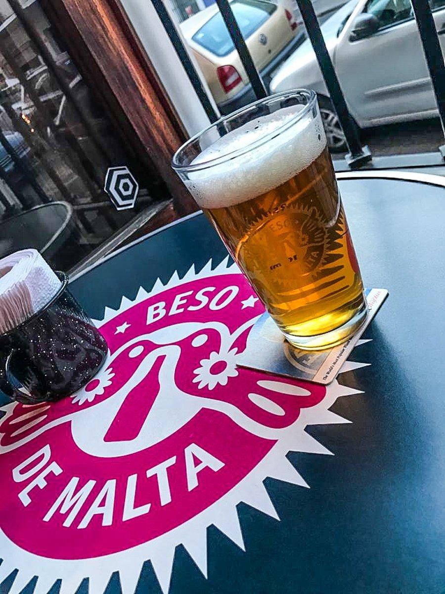 the best craft beer in puebla from beso de malta