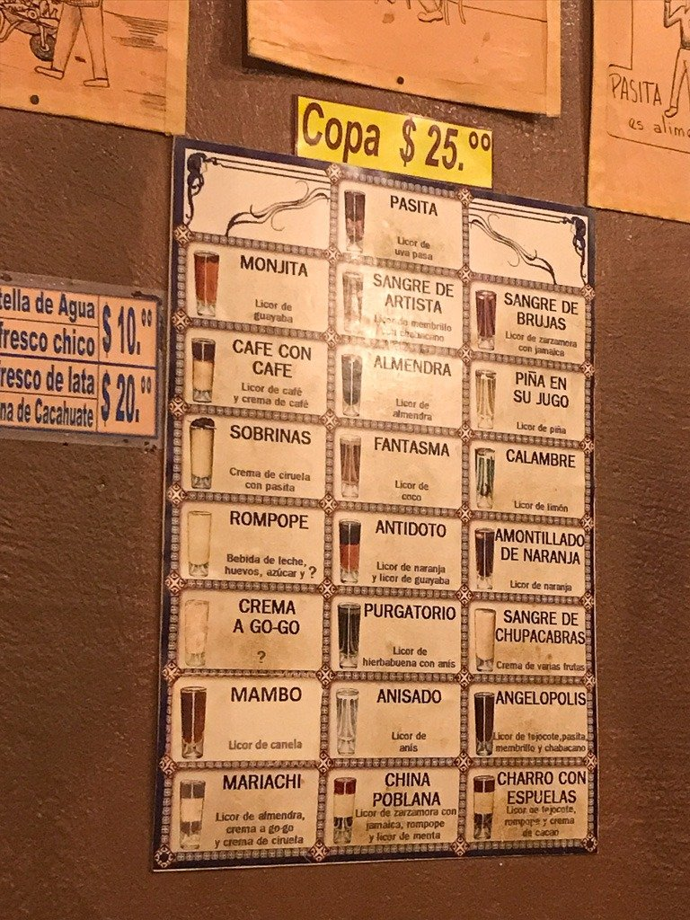 where to drink pasita in puebla