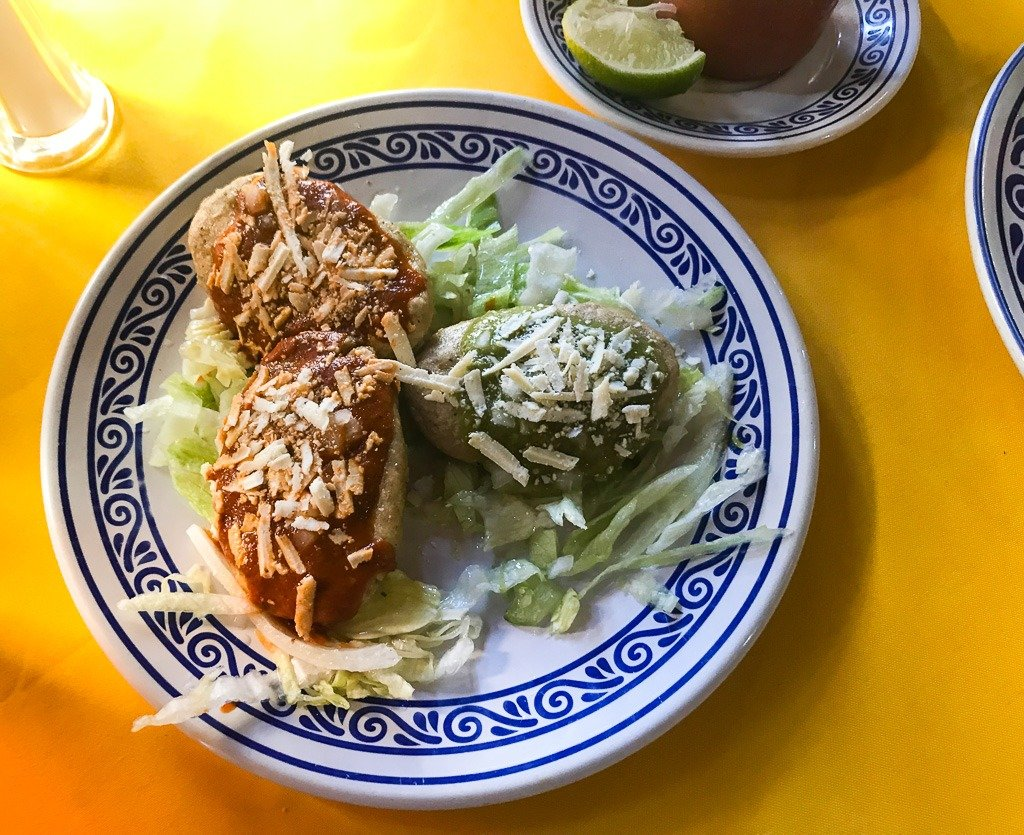 food in puebla