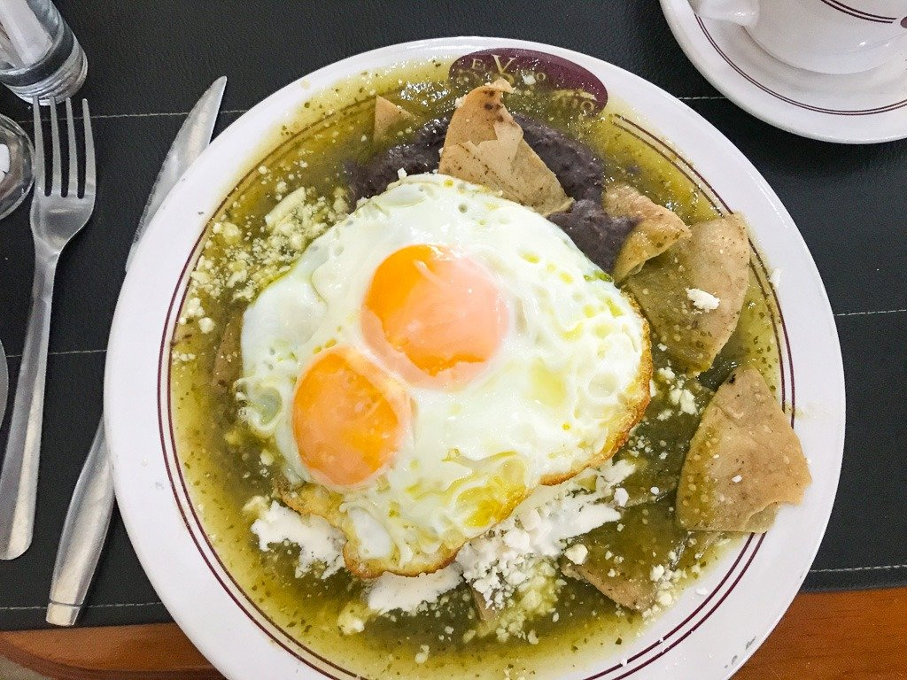 food in Puebla mexico