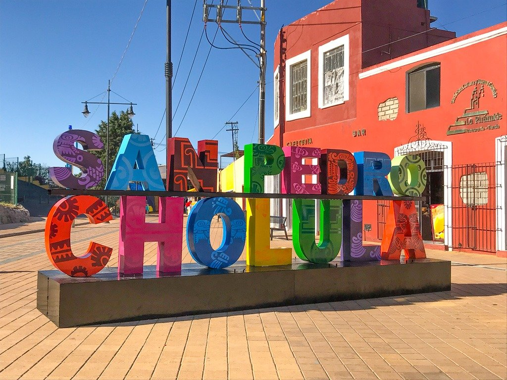 how to get to cholula from puebla