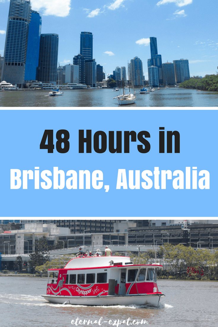 A 48-Hour Brisbane Itinerary - what to do in Brisbane, the best bars in Brisbane, where to eat in Brisbane and the best hotels in Brisbane, Australia!