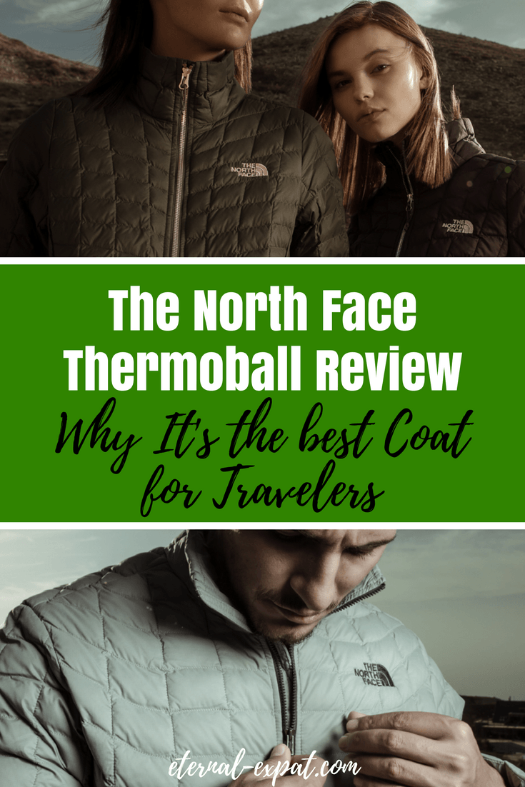 A review of the North Face Thermoball jacket and why I think this is the best coat for travelers. The North Face Thermoball Review to answer all of your questions.