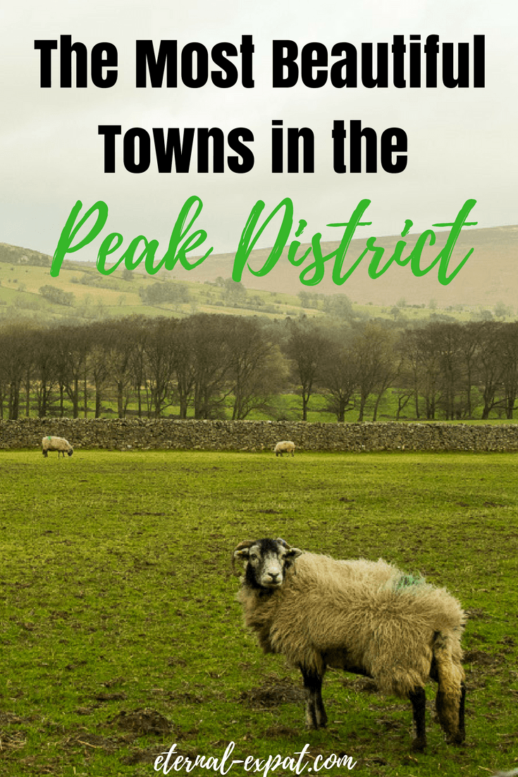 The Most Beautiful Towns in the Peak District, England. If you want to get out of London and see a different side of the UK, head north to the Peak District in Derbyshire for stunning walks, great pubs, and lots of sheep!