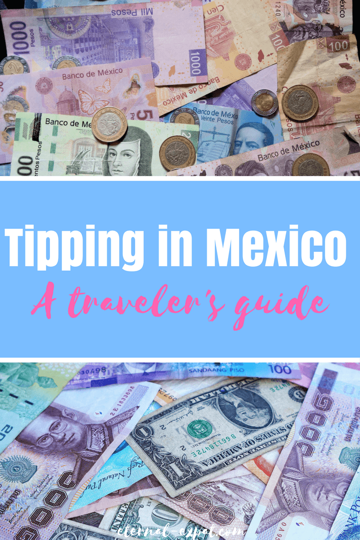 Tipping in Mexico - a guide to help you figure out when you should tip when you're traveling Mexico. Tipping in Mexico City, Tipping in Cancun, Tipping at resorts in Mexico