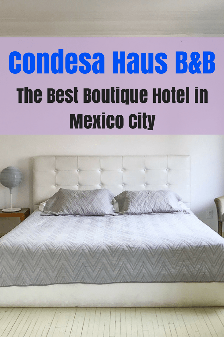 Where to stay in Mexico City - the best boutique hotel in Mexico City is in the neighborhood of Condesa. Condeasa Haus is a fantastic B&B in a great Mexico City neighborhood. Here's why you should stay here!