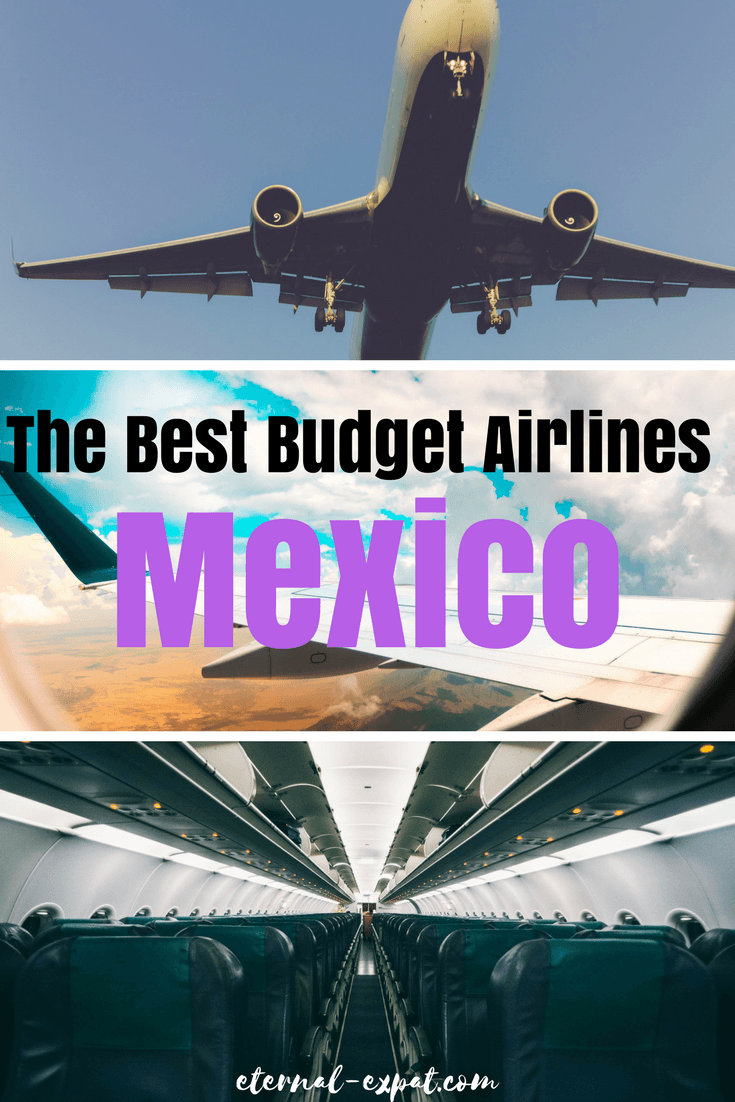 The Best Budget Airlines in Mexico - whether you want to fly internationally to Mexico or you want to fly internally in Mexico - these are the best budget airlines to use around Mexico!
