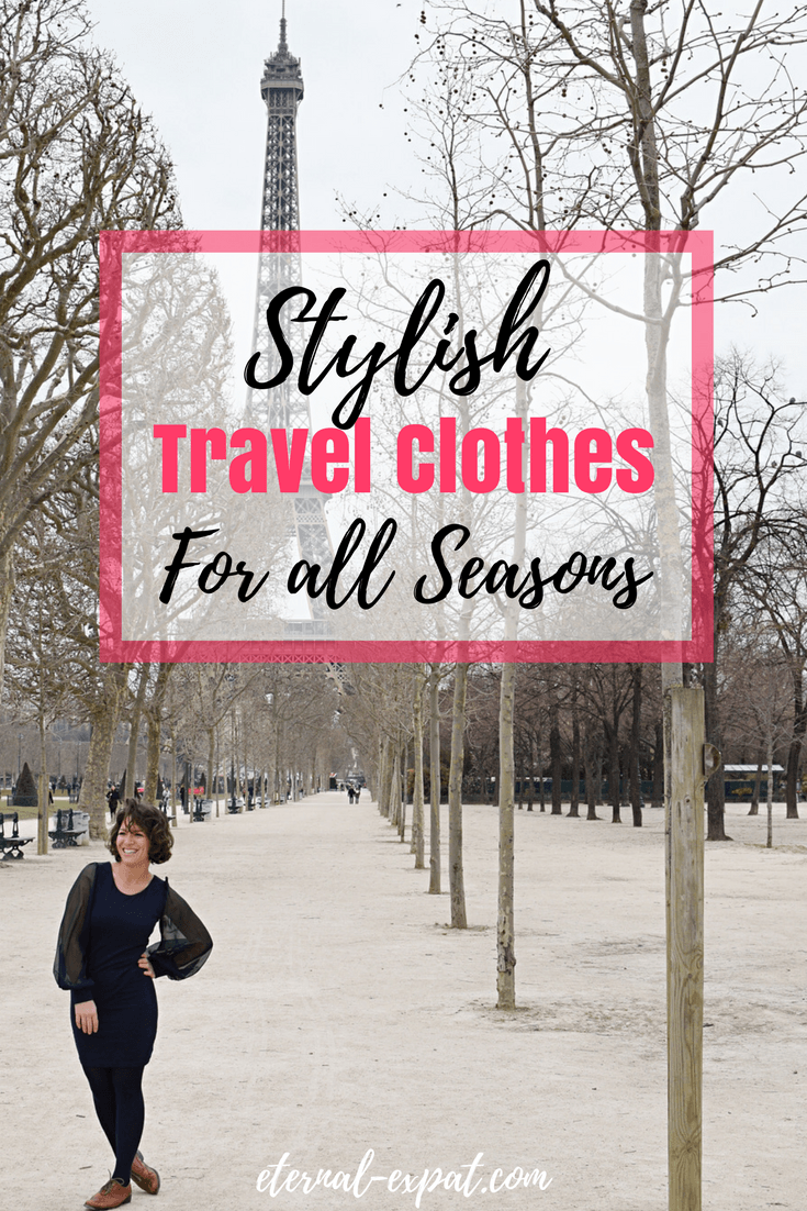 Stylish travel clothes for women - everything you need to stay stylish while you travel, no matter what the season or weather