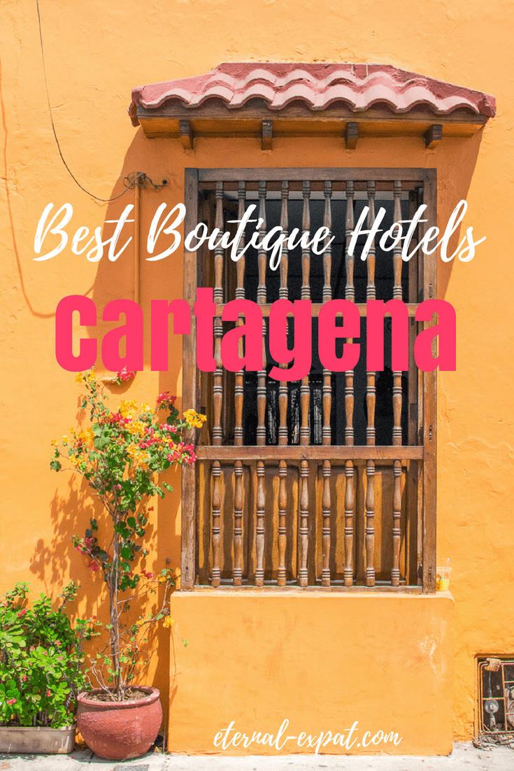 Where to stay in Cartagena - the best hotels in Cartagena. This is a list of the best Boutique hotels in Cartagena that I found when researching for my trip to Colombia!