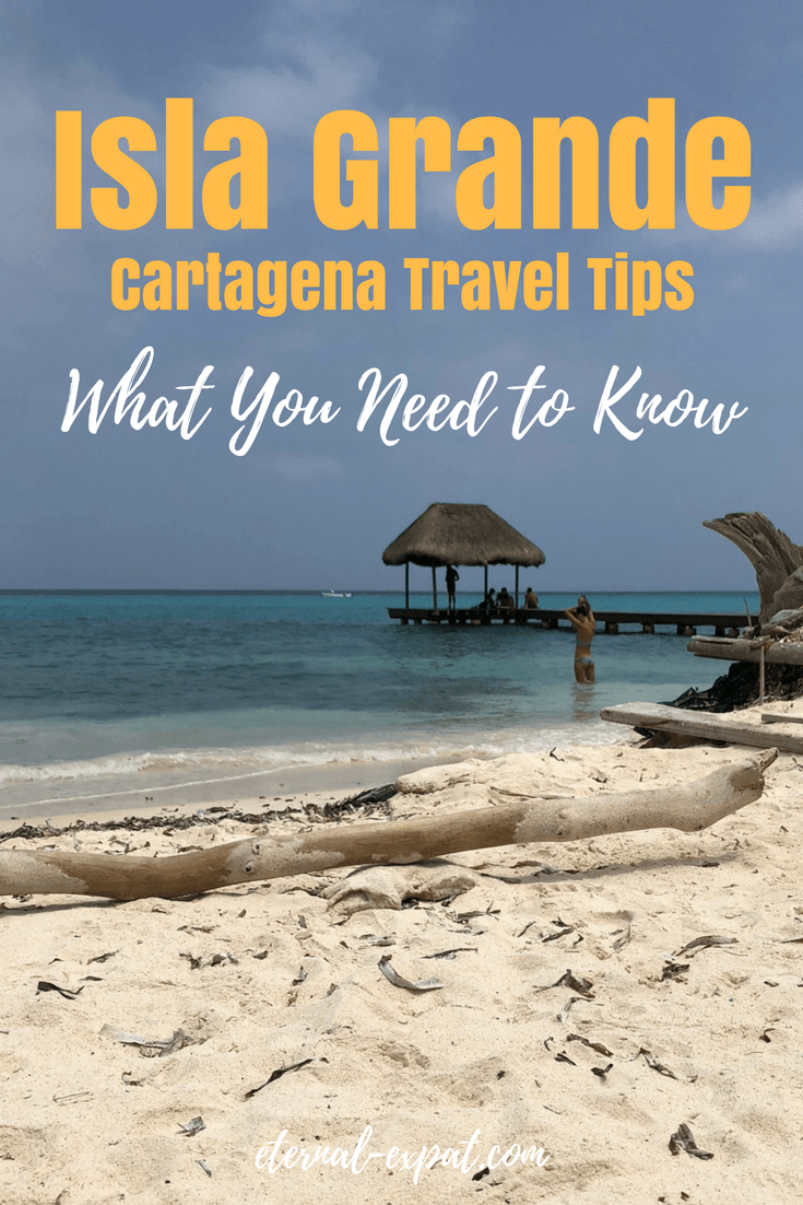A Guide to Isla Grande, an easy trip from Cartagena Colombia. If you are traveling to Cartagena, you need to make a trip to the Rosario Islands, and in particular, Isla Grande. Here is where to stay, what to do, and how to get around once you're there!