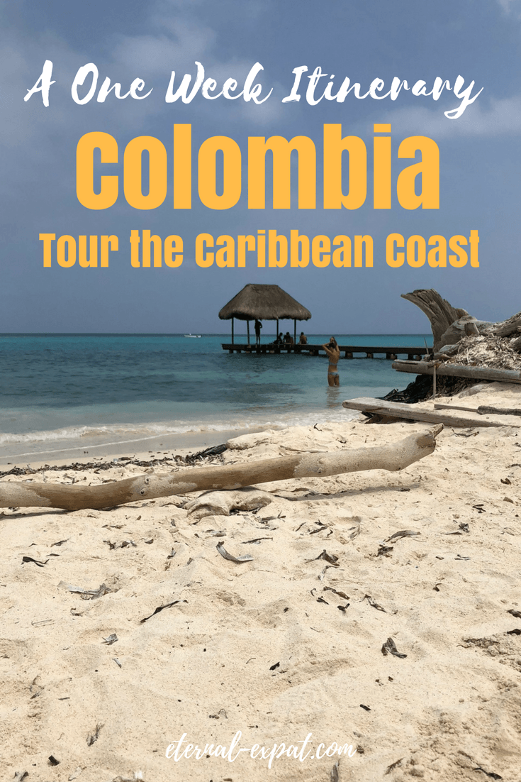 This one week Colombia Itinerary is all about the Caribbean Coast - all you want to know about Cartagena, the Rosario Islands, and Tayrona National Park
