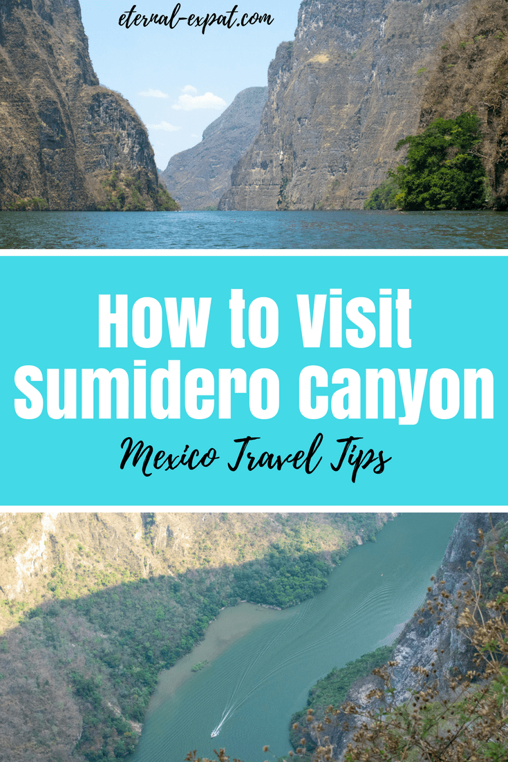 Everything you need to know about visiting Sumidero Canyon in Chiapas, Mexico. This canyon near San Cristobal de las Casas is an incredible tour to take - don't miss it!