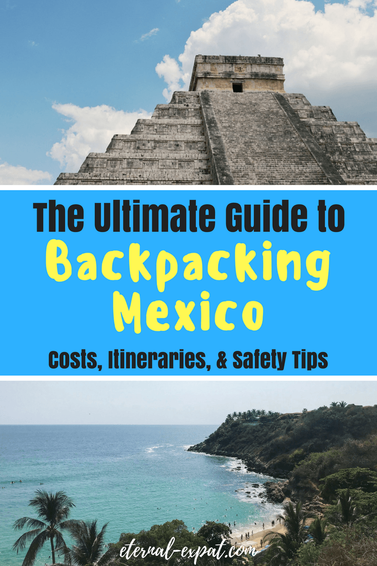 The Ultimate Guide to Backpacking Mexico. If you are thinking about taking a backpacking trip around Mexico, you can't go wrong with these tips. Figure out the best Mexico itineraries, how much it costs to travel Mexico, and if it's safe to travel Mexico as a woman!