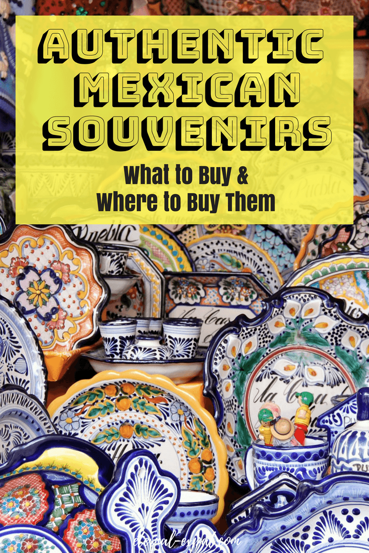 The best mexican souvenirs to find on your trip to Mexico. This is a guide to 10 of my favorite authentic mexican souvenirs and where you should get them from to ensure they are the real deal. #mexicotravel #mexico #shopping #Mexicocity