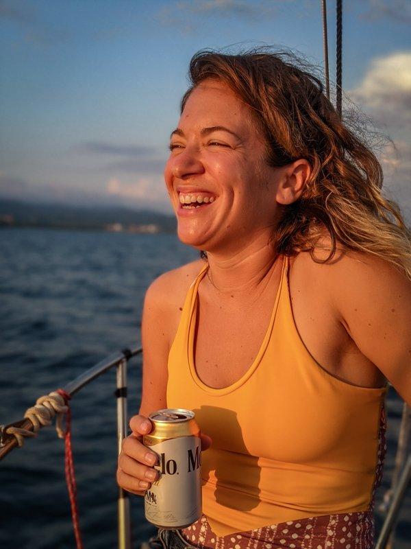 on a sailboat in sayulita mexico