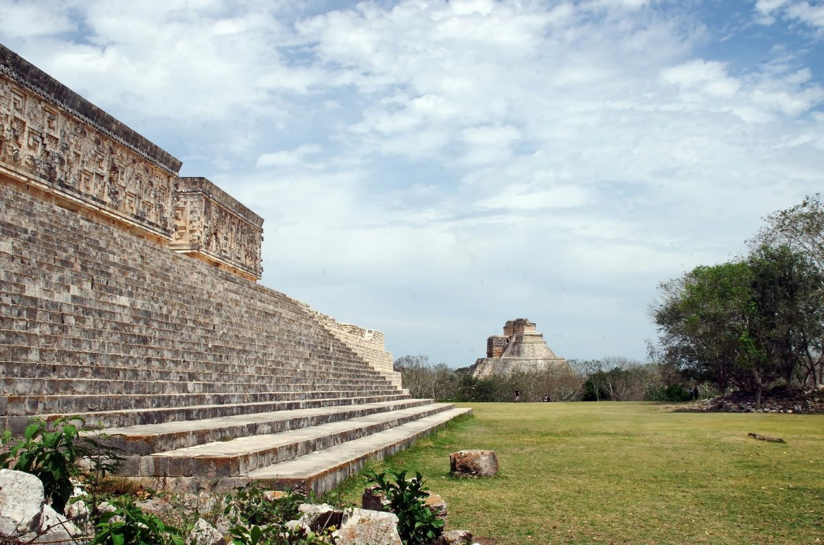 ruins in the yucatan