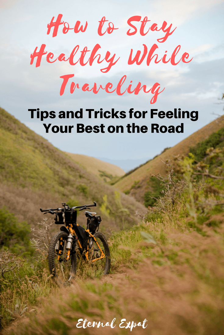 how to stay healthy while traveling - tips and tricks for staying healthy while you travel whether you're going away for a long weekend or a round the world trip - here's how to keep fit, lose weight, and feel great on your next trip! #travel #fitness #health #healthytravel #sustainabletravel #travelmore #traveltips #traveladvice #tipsfortravel #workout