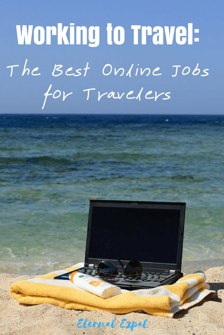 Working online - the best online jobs for travelers - looking to become a digital nomad? Check out these jobs that you can do from anywhere and how you can get started! #digitalnomad #locationindependence #travel #traveler #worktotravel #travel #influencer #blogging #howtosavemoney #money #makemoneyonline