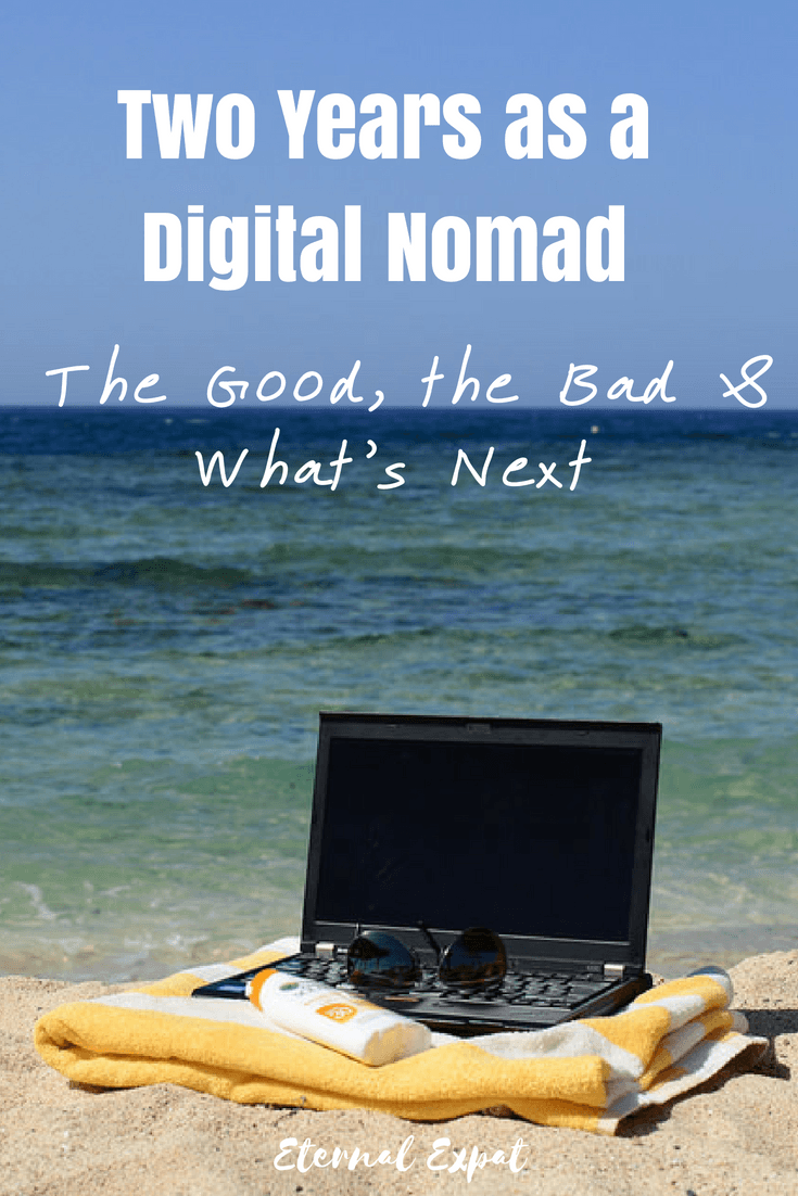 I have officially been doing this digital nomad thing for TWO YEARS! Here's what the last 12 months have been like and what I'm hoping the next 12 will look like!