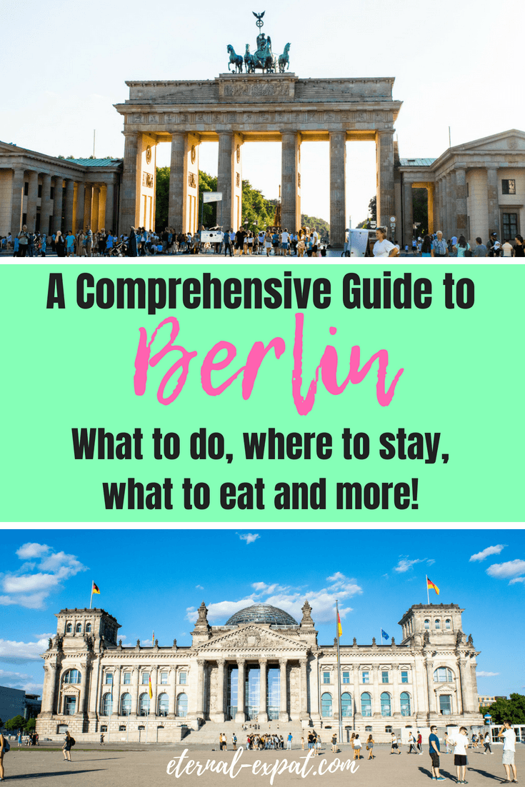 What to do in Berlin, where to eat in Berlin, the best hotels in berlin, the best bars in berlin, a guide to berlin for first time visitors - #berlin #travel #germany #whattodo #tips #traveltips #travelgermany #visitberlin