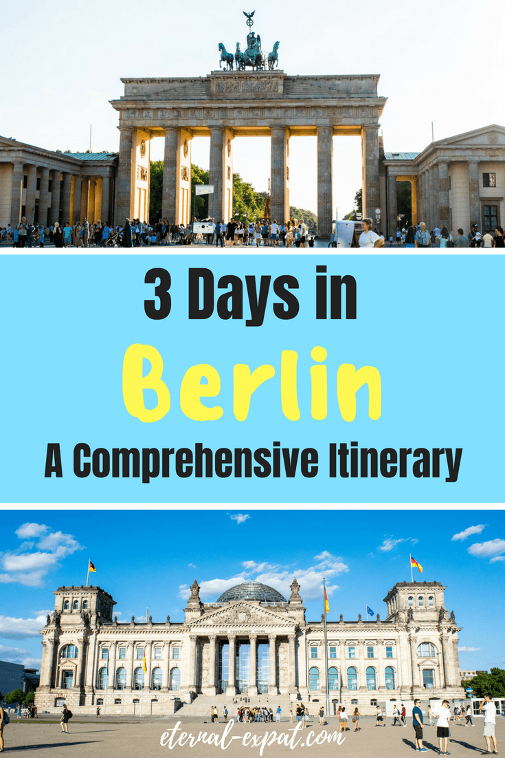 3 days in Berlin - a Berlin itinerary - where to stay in Berlin, where to eat in berlin, what to do in Berlin #berlin #traveltips #itinerary #whattodo #traveltips #travel #germany