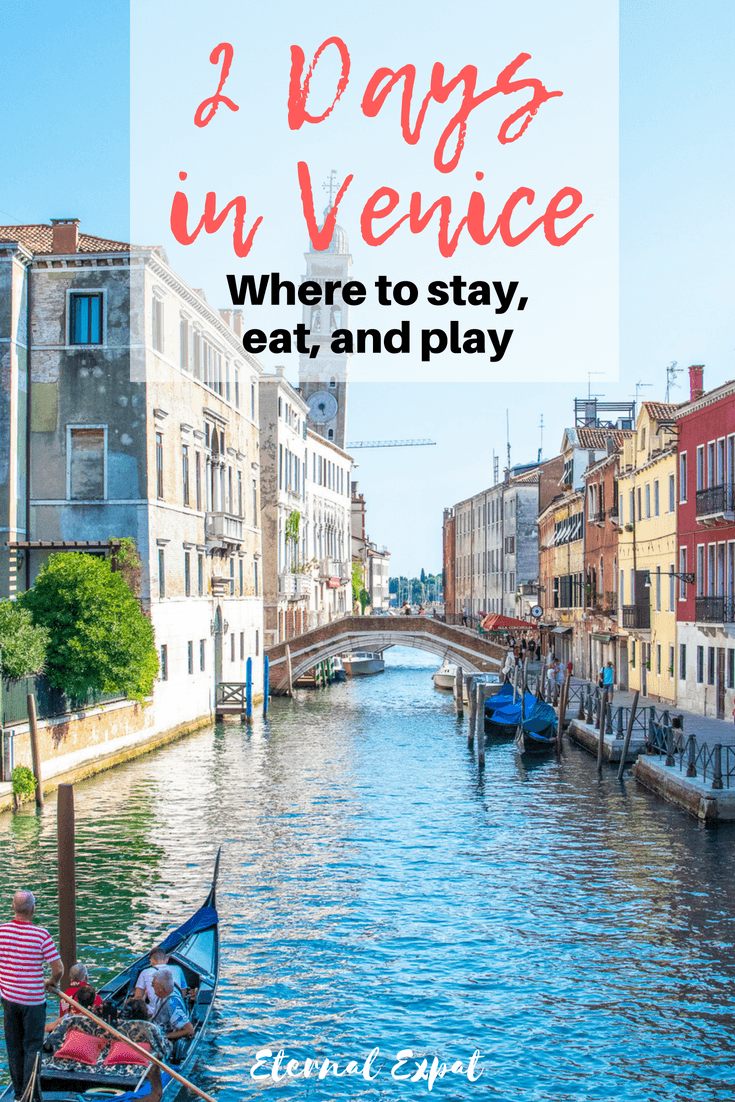 2 Days in Venice - the best places to stay in venice, the best hotels in venice, where to eat in venice, tops restaurants in venice, what to see in venice, the best museums in venice, and how to get around venice! #gondola #venice #italy #travel #traveltips #itinerary #italianfood