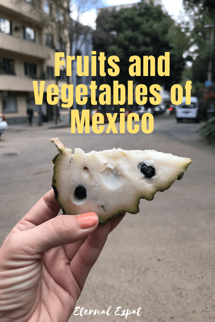 fruits and vegetables of Mexico