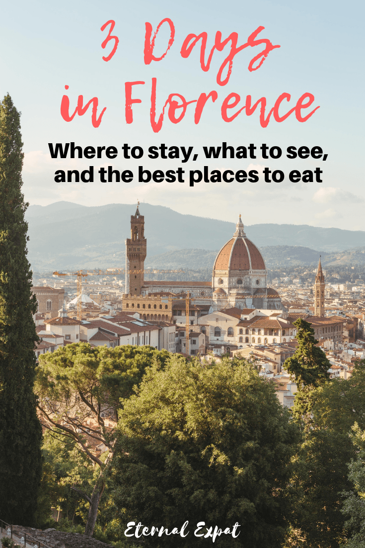 3 Days in Florence - a florence itinerary to help you plan your stay in Italy - uffizi gallery, galileo, the Duomo, piazzale michaelangelo, and seeing the David in the flesh (plus a day trip to Fiesole). There is so much to do in Florence this will help you plan your trip!