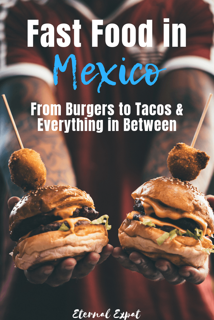 fast food in Mexico - from popular fast food chains to little family-run comida corrida restaurants - there are so many different places to get cheap, fast food in MExico. There are even some healthy fast food options around, too!
