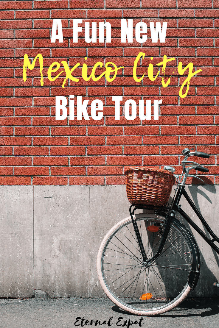 Looking for a fun new tour in Mexico City? Check out this bike tour in MExico City to enjoy tons of amazing Mexican street food, ride your bike in Mexico City, eat tamales in mexico city, and don't forget the churros!