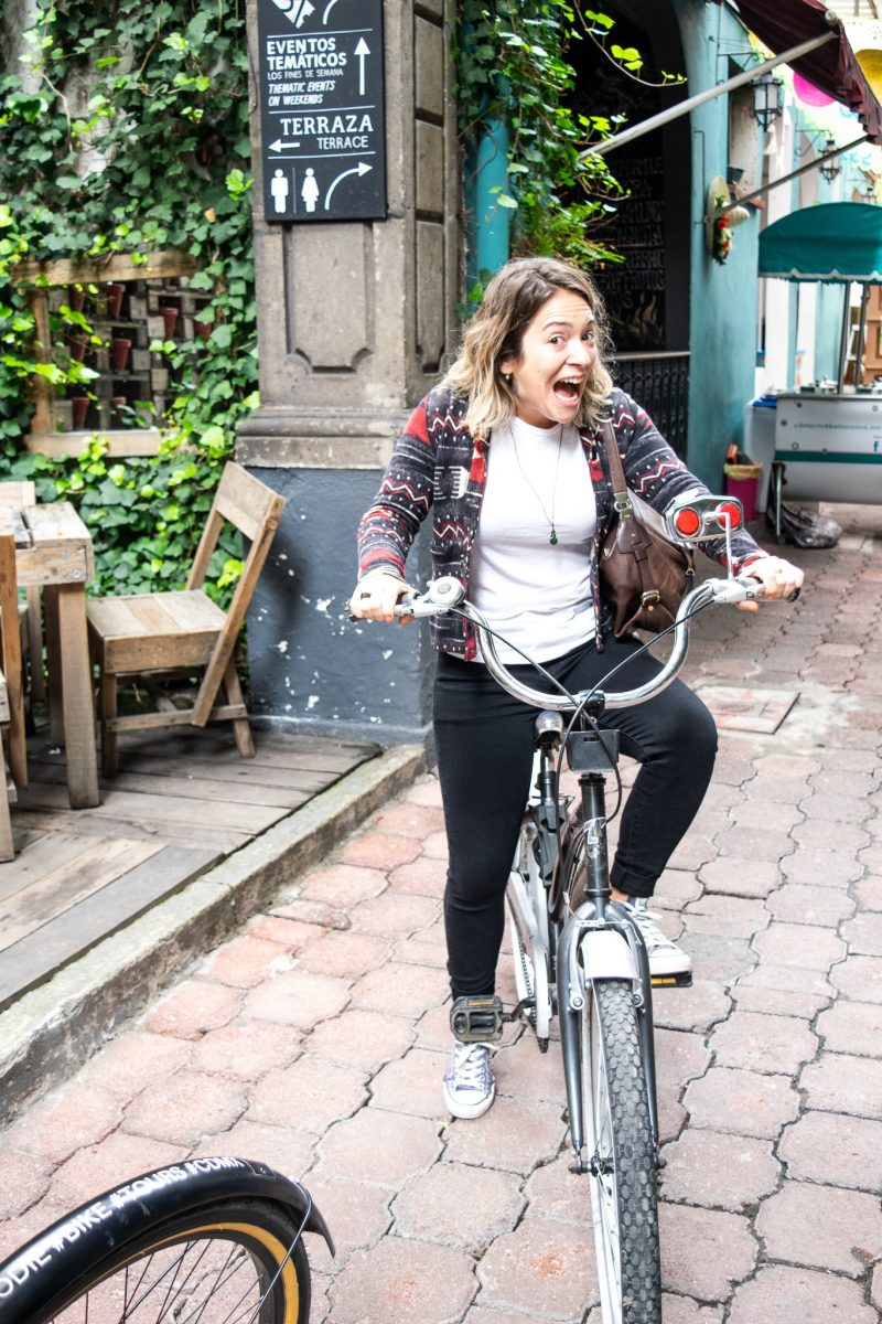 Bike tour in Mexico City