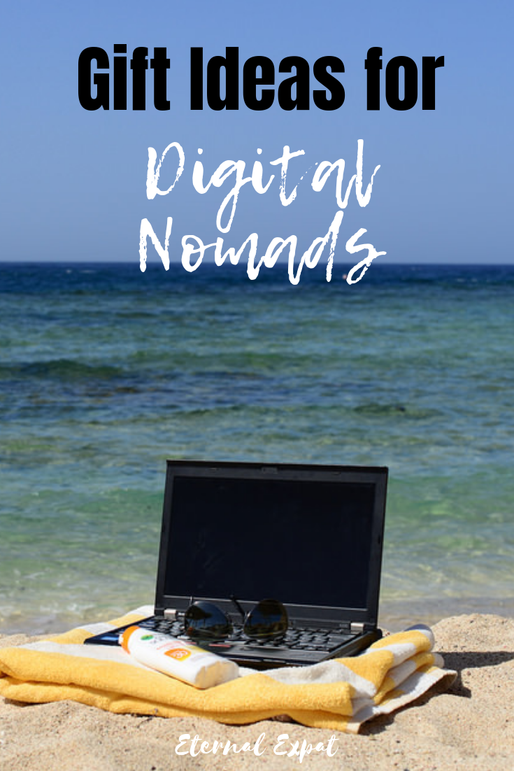 Holiday gift ideas for digital nomads - what to get the traveler or location independent person in your life this holiday season - christmas or hanukah, whatever you celebrate, these gift ideas are sure to be a big hit!